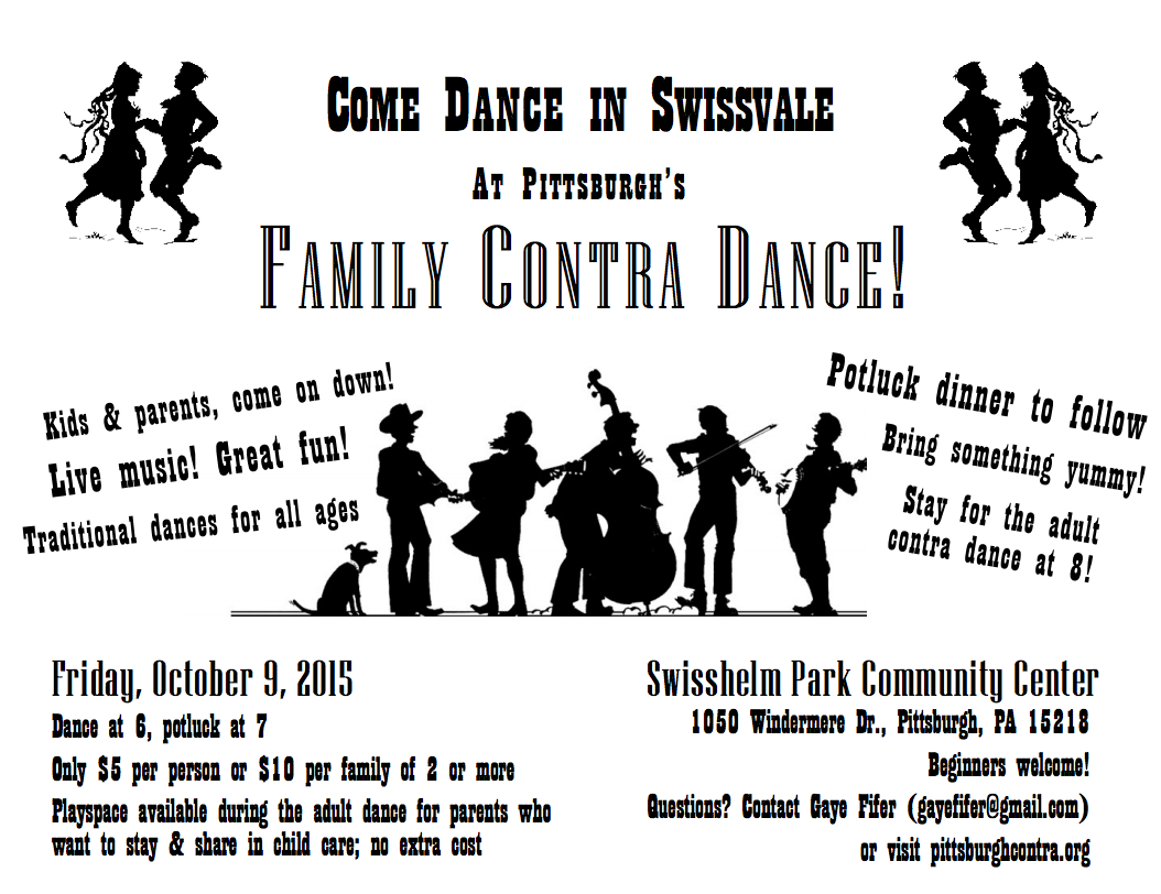 Family Dance Info